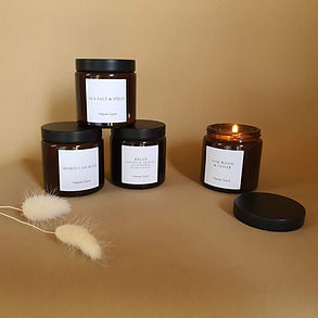 Brown Pot Candle Heaven Scent