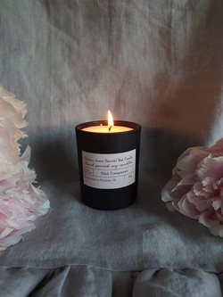 Black Pomegranate Soy Wax Candle
