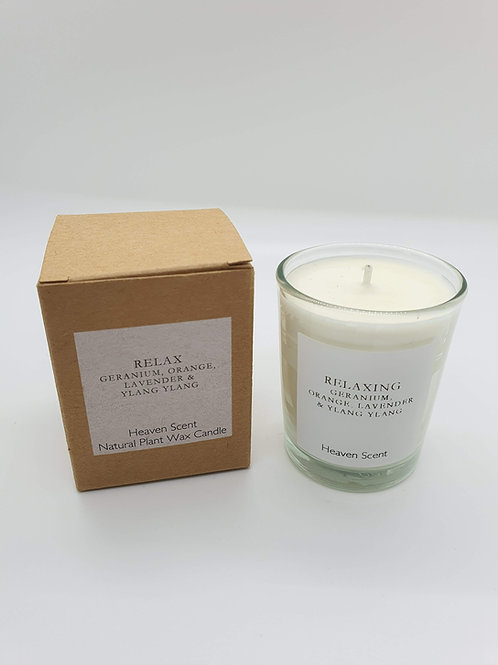 Relax (essential oils) 9cl Soy Wax Candle