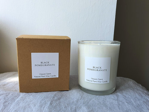 Black Pomegranate 20cl Soy Wax Candle