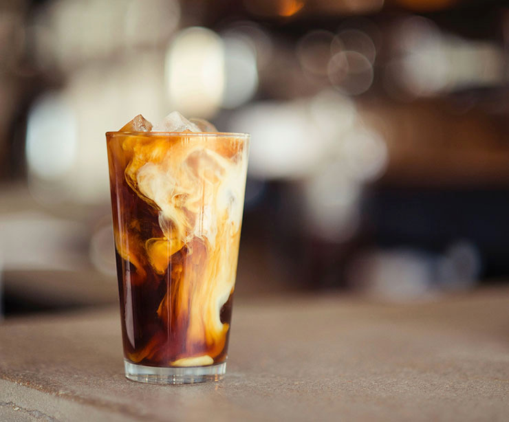 iced coffee o café helado casero