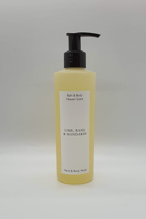 Lime, Basil & Mandarin Soap Wash 250ml