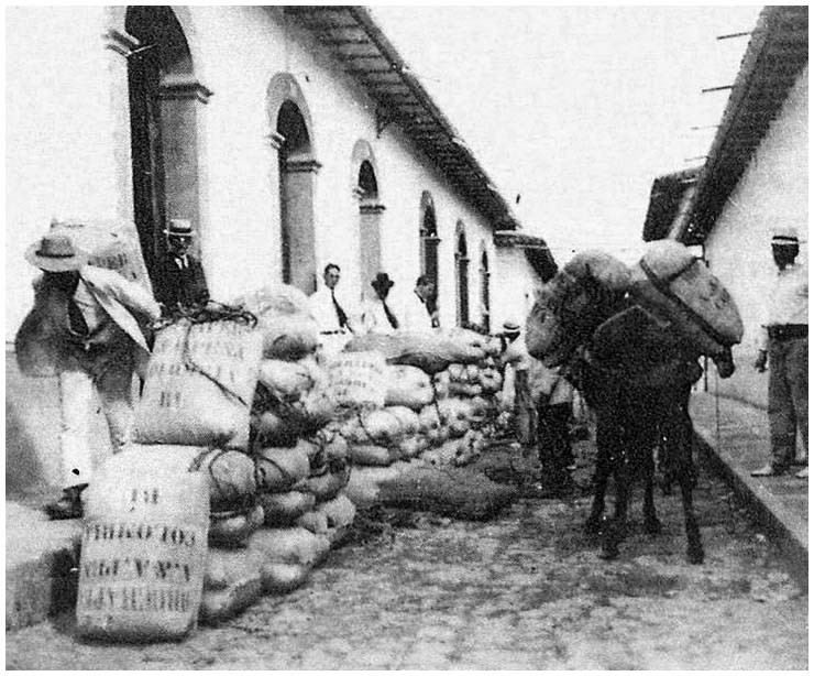 foto antigua café de colombia