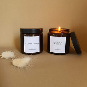 Classic Candle Brown Pot Heaven Scent