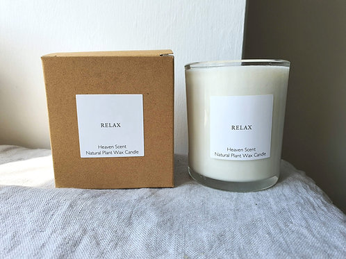 Relax 20cl Soy Wax Candle