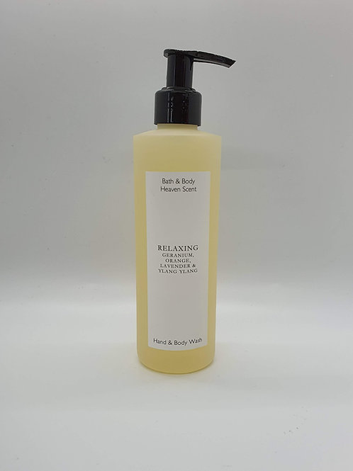 Relaxing (essential oils) Natural Soap Wash 250ml