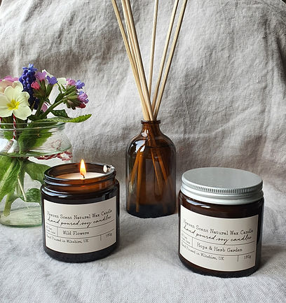 Heaven Scent Candles and Reeds