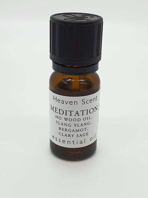 Meditation essential oil Ho Wood Oil, Ylang Ylang, Bergamot, Clary Sage