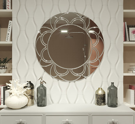 Зеркало с гравировкой 01-00208