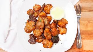 PiANTA Vegan Restaurant Smashed Potatoes