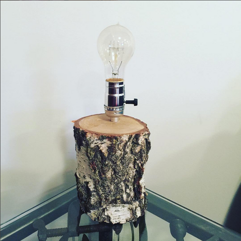 Birch Lamp