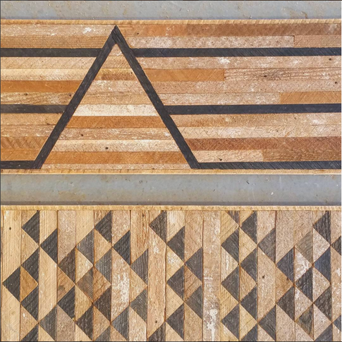 Lath Wall Art