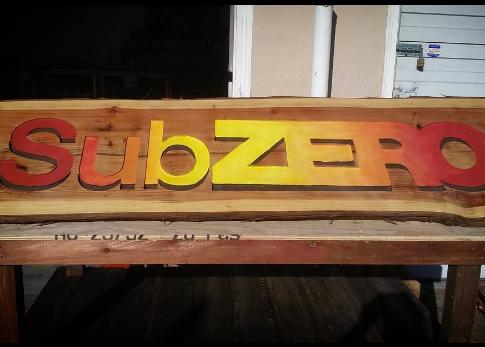 SubZERO sign