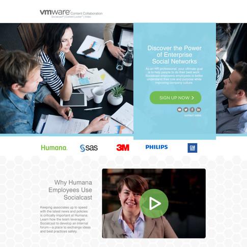 Web Design - VMWare