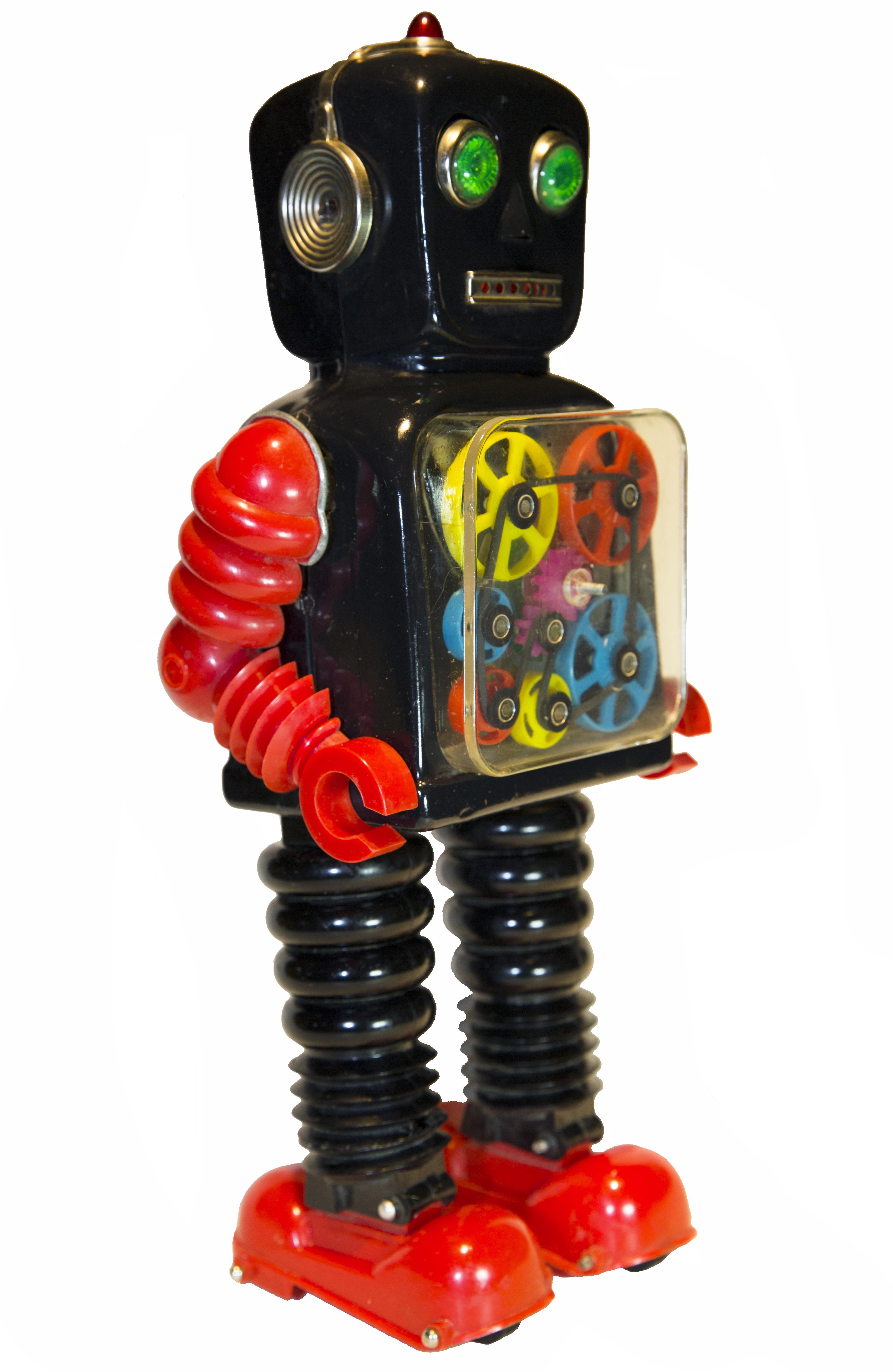BLINK-A-GEAR ROBOT ELECTRONIC