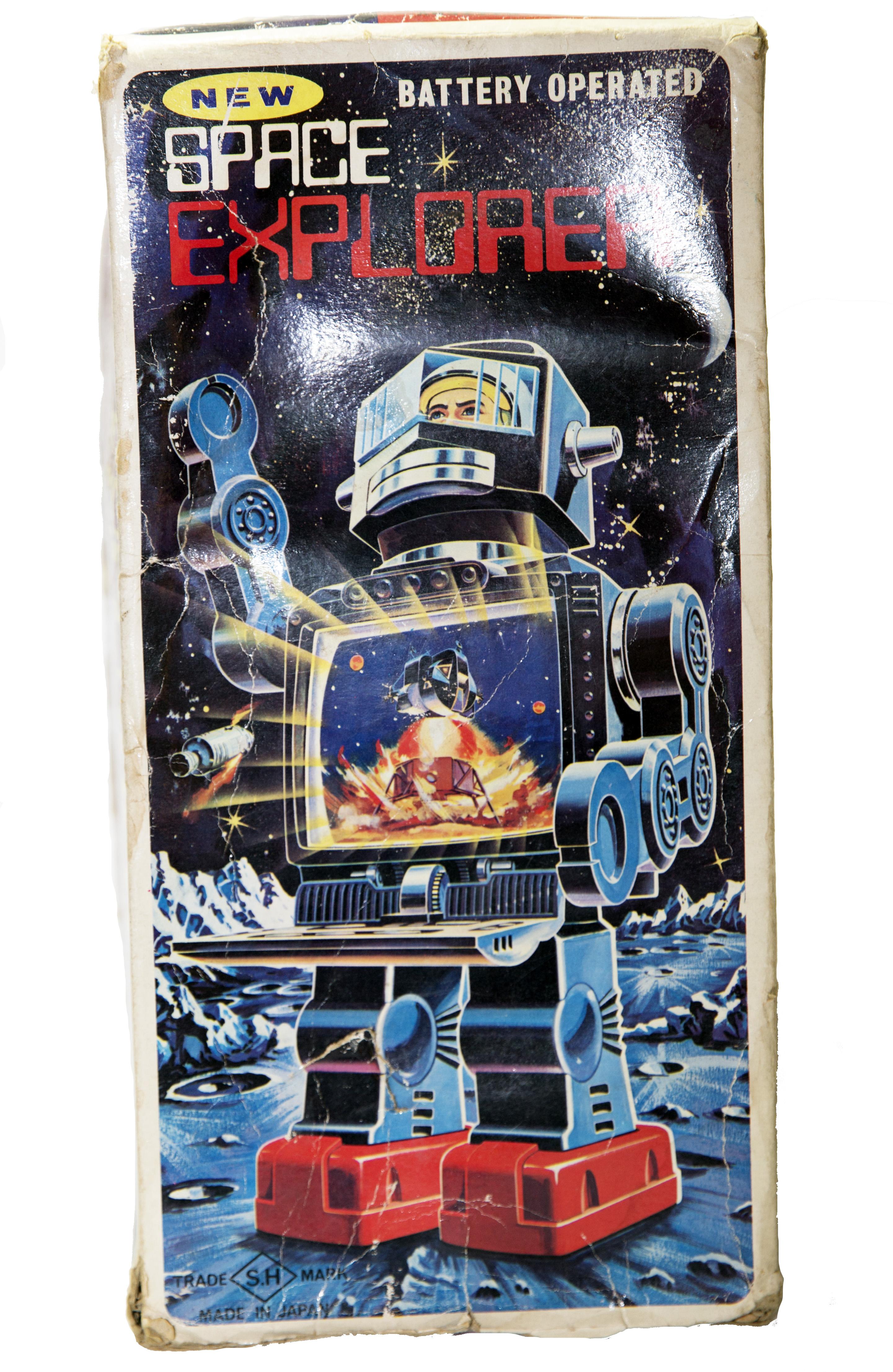 SPACE EXPLORER ROBOT ELECTRONIC