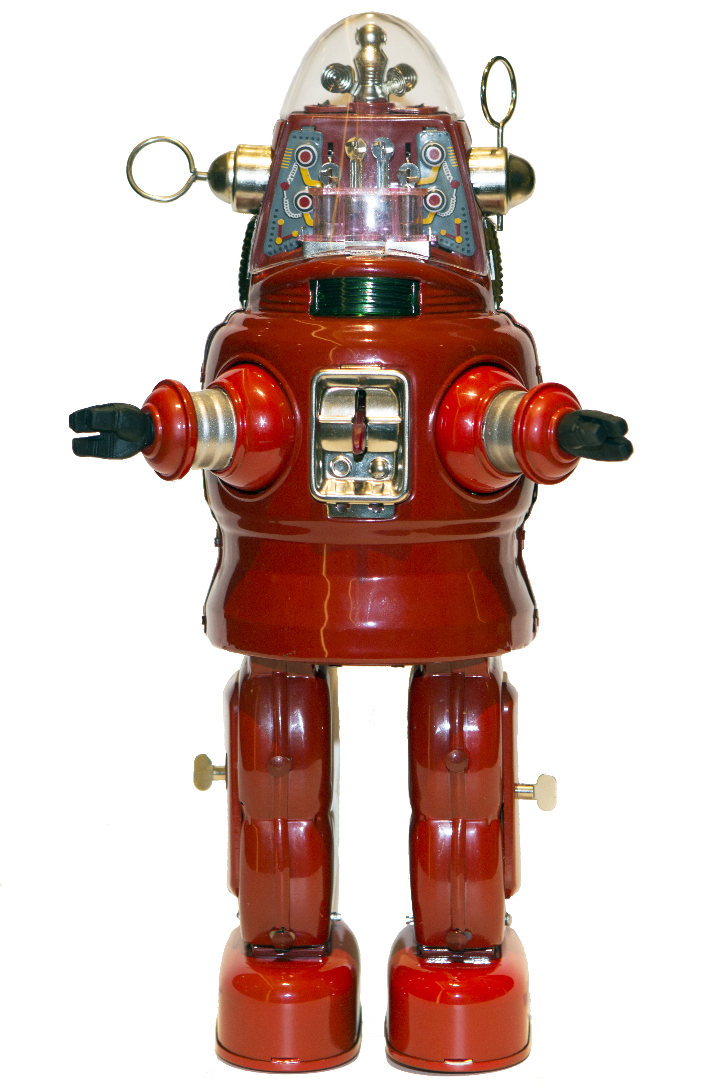 MECHANIZED ROBBY THE ROBOT RED