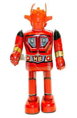 SUPER ROBOT MACH BARON WIND-UP