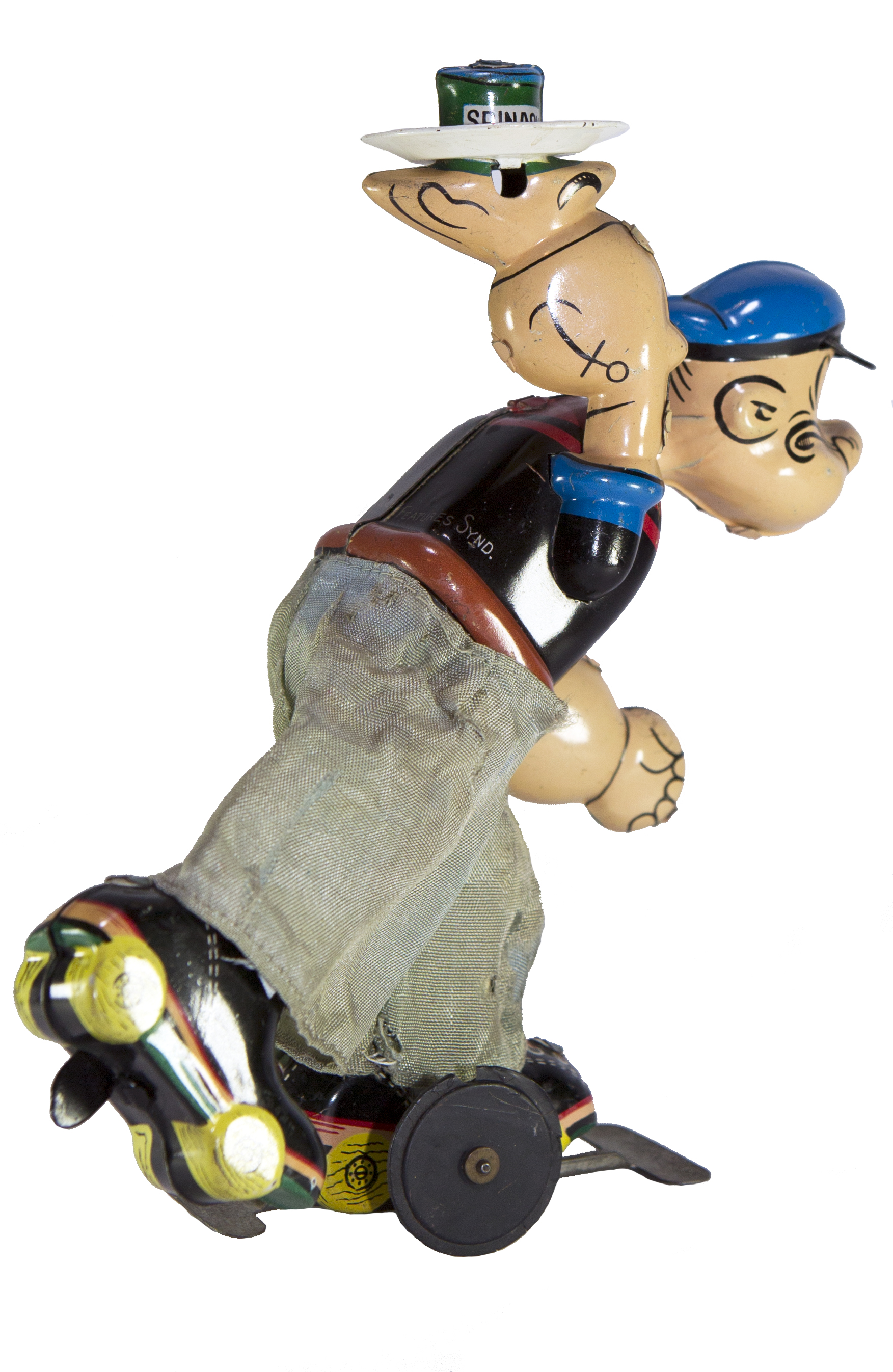 POPEYE ON ROLLER SKATES WIND-UP
