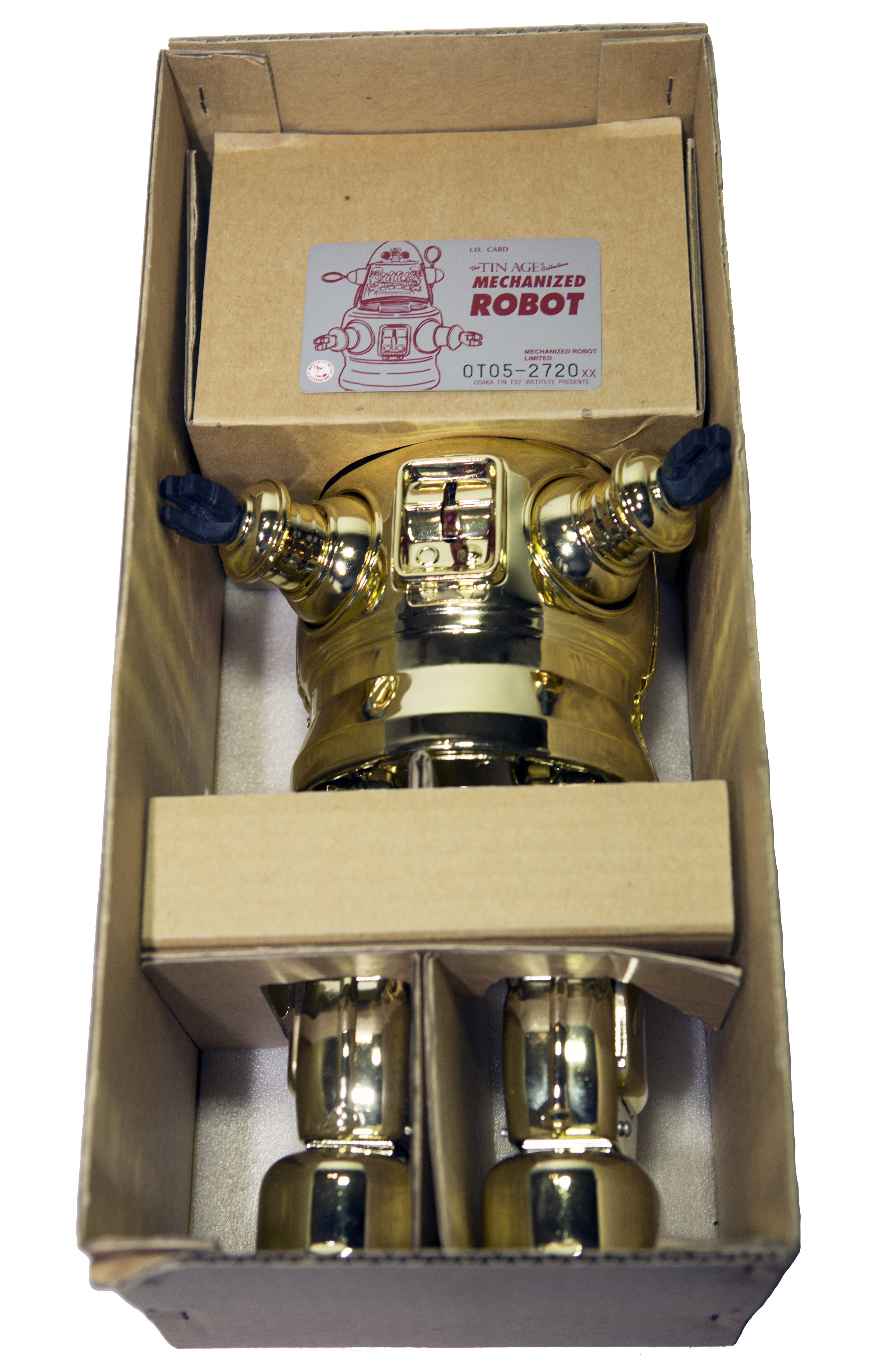 MECHANIZED ROBBY THE ROBOT