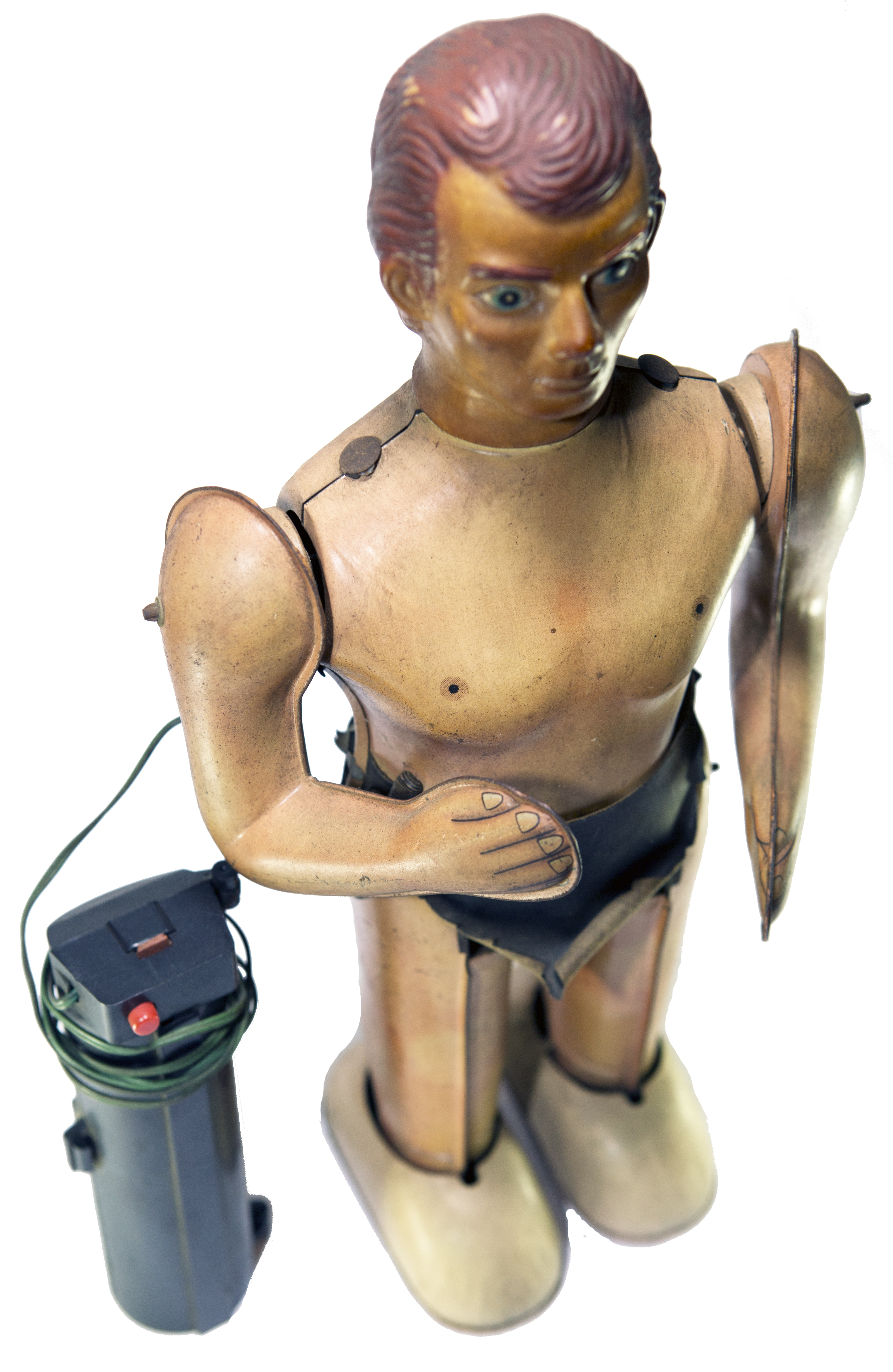 TARZAN WITH WIRED REMOTE CONTROL