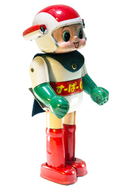 SUPER HERO COMIC KUN WIND-UP