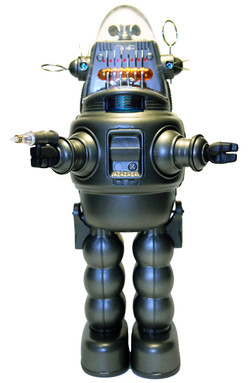 MECHANIZED ROBBY THE ROBOT US VER