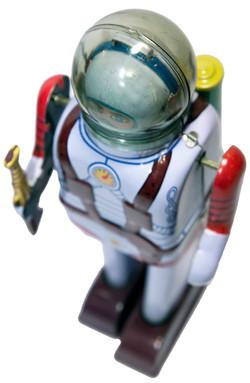 SPACE COMMANDO WIND-UP