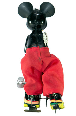 MICKEY MOUSE ON ROLLER SKATE WIND-UP