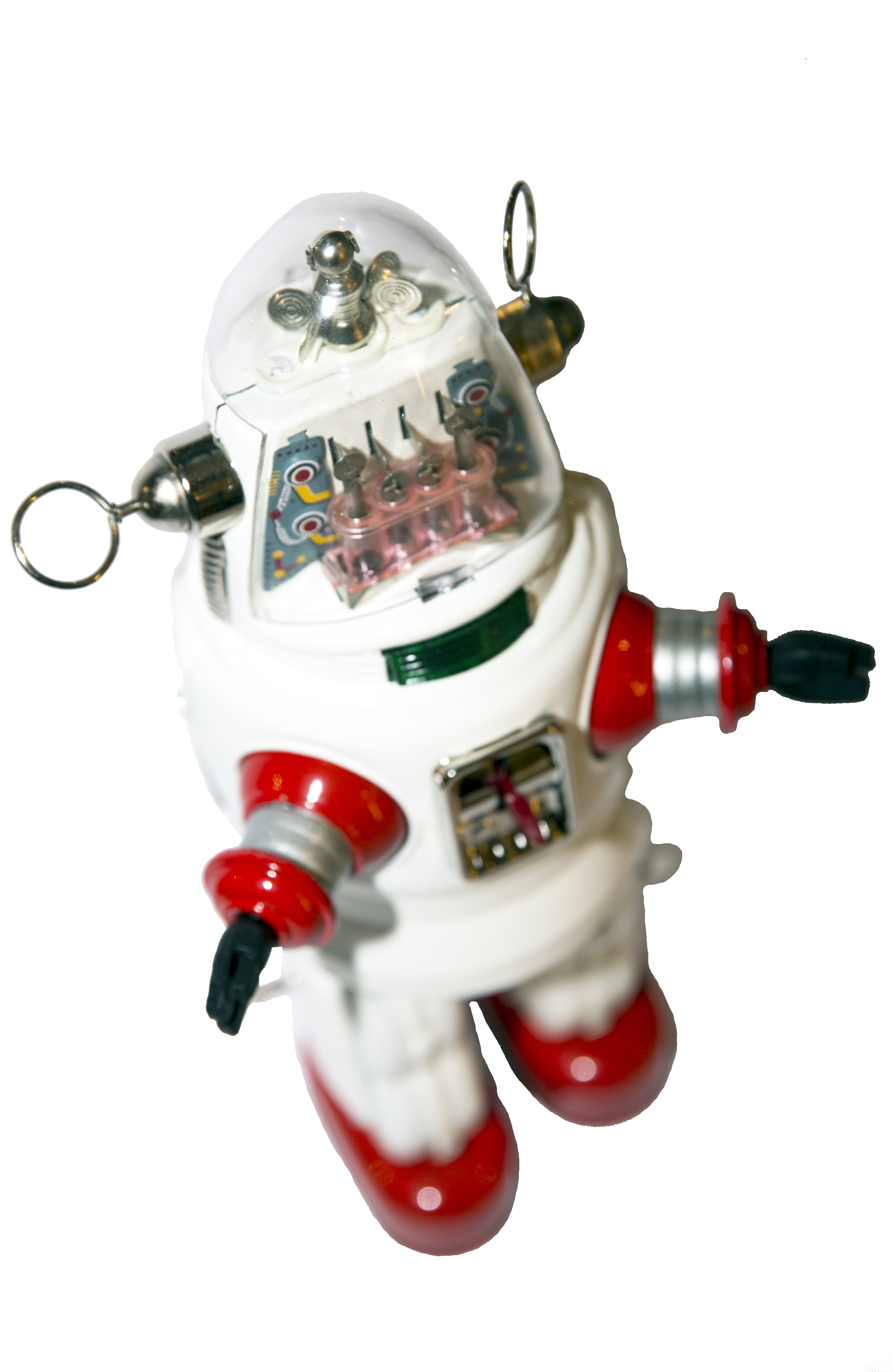 MECHANIZED ROBBY THE ROBOT WHITE