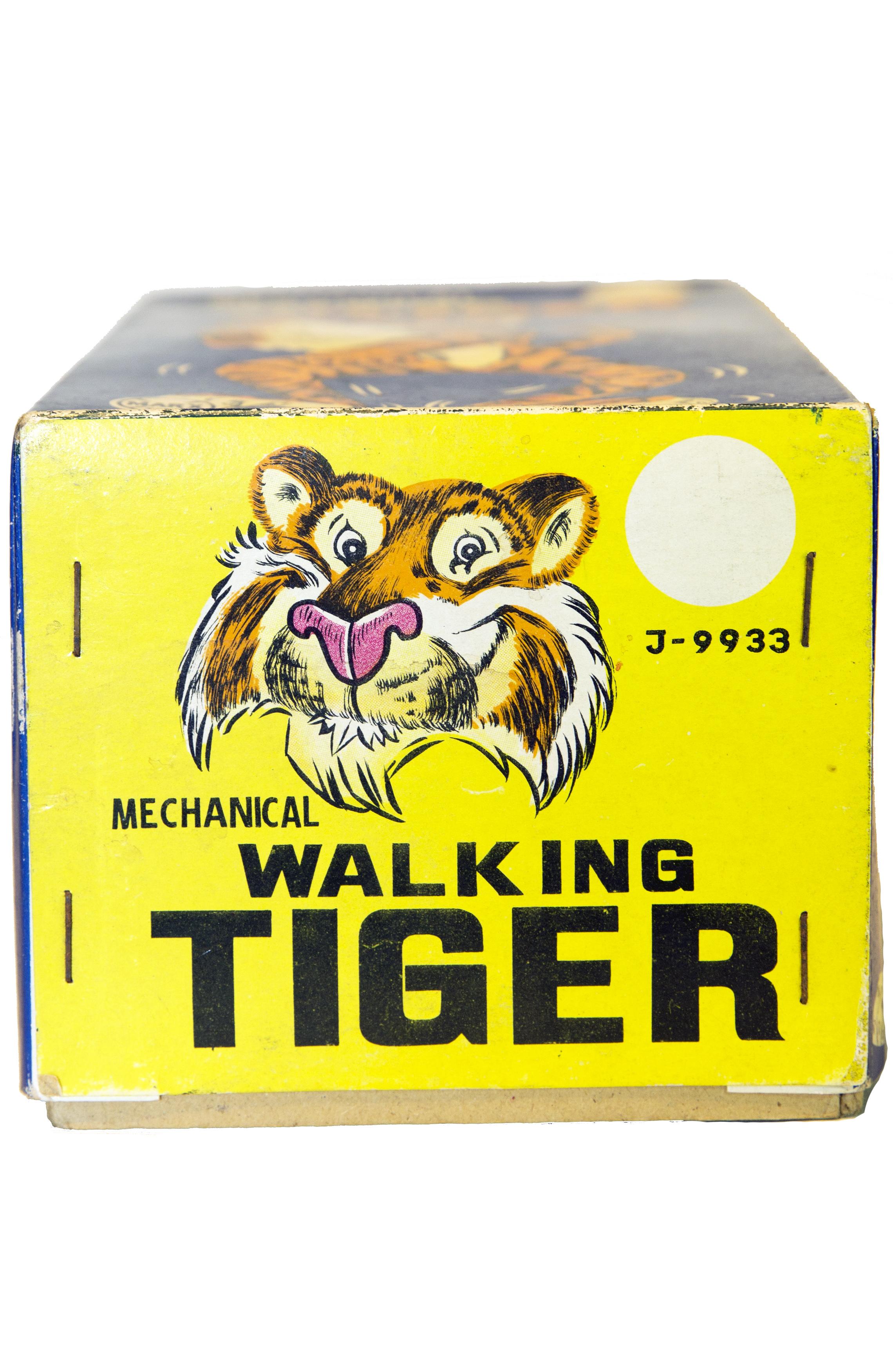 MECHANICAL WALKING TIGER WIND-UP