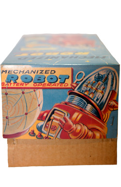 MECHANIZED ROBBY THE ROBOT BLUE