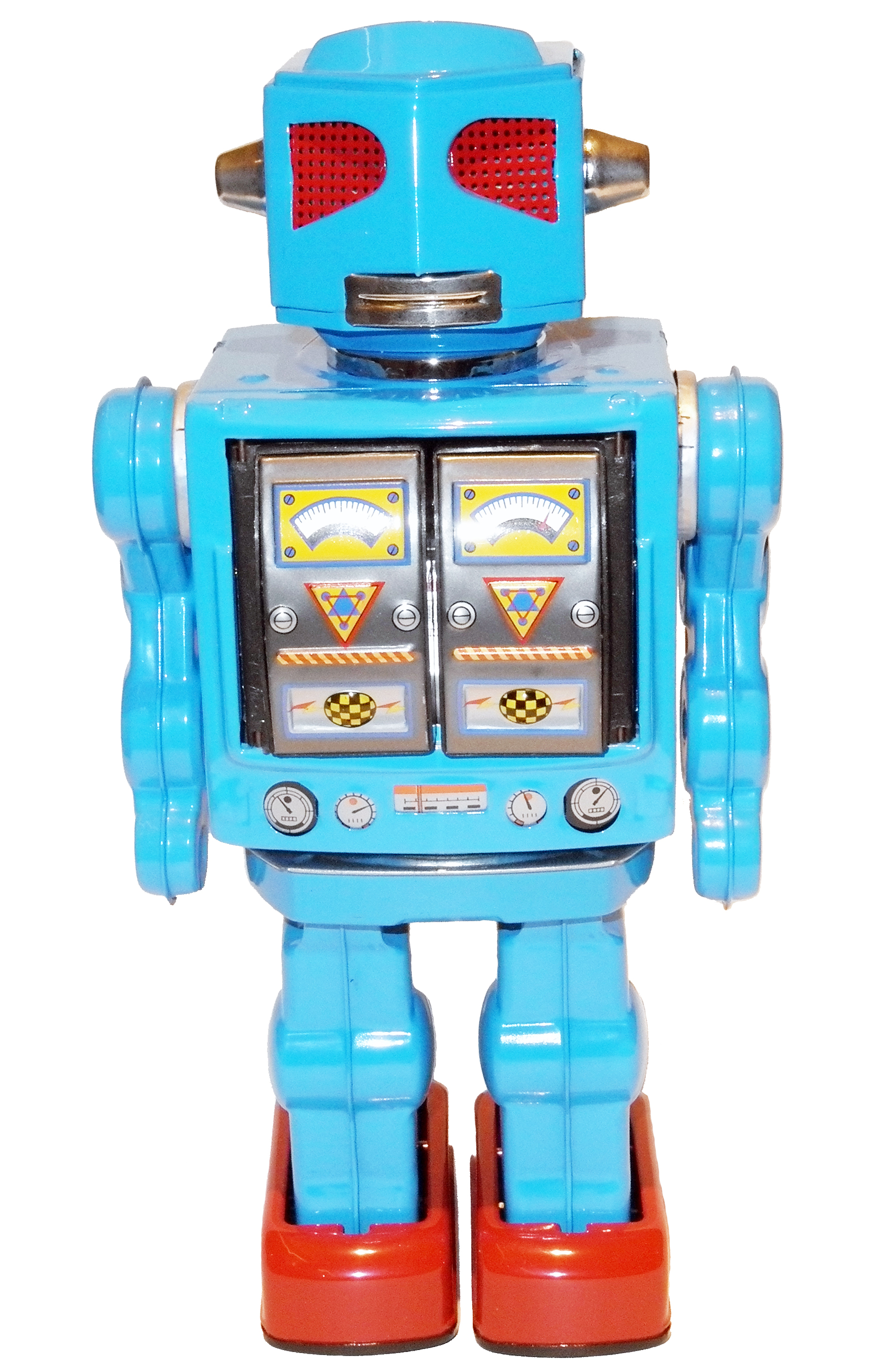 SPACE EVIL ROBOT BATTERY OPERATED