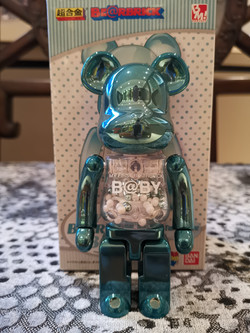 MY FIRST BEARBRICK (TURQUOISE)