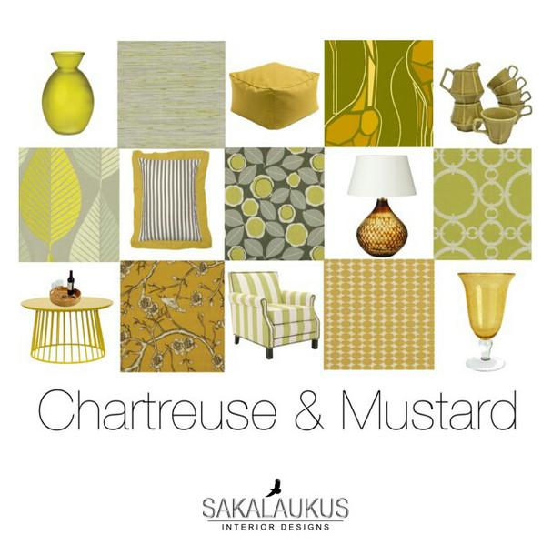 Chartreuse & Mustard