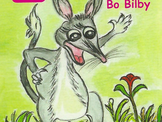 The Bilby in the Aussie outback comes for a visit