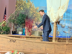 preaching from the boat