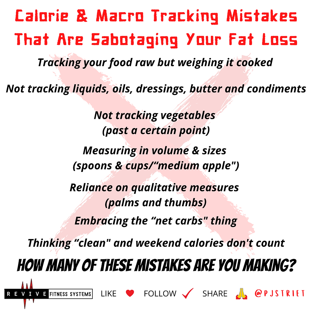 Calorie Counting Mistakes