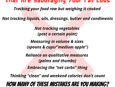 7 Calorie Counting Mistakes That Are Sabotaging Your Weight Loss