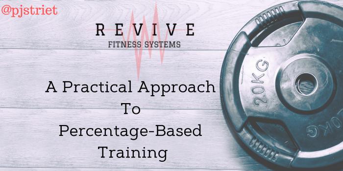Percentage Strength Training Programs