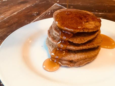 Coconut Oat Pancakes