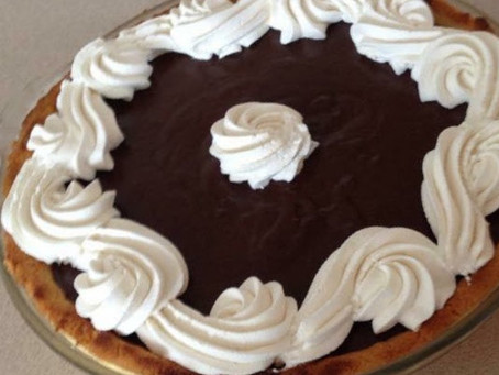 Chocolate  Custard Pie