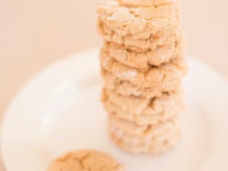 VeganPeanut Butter Cookies