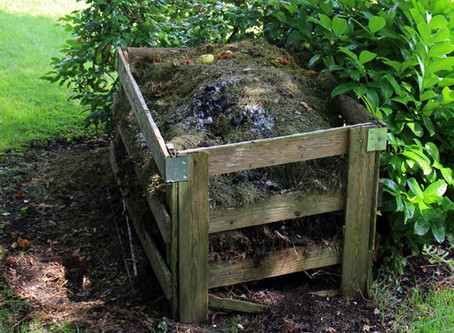 Soil is a major store of carbon so turn that waste matter into compost