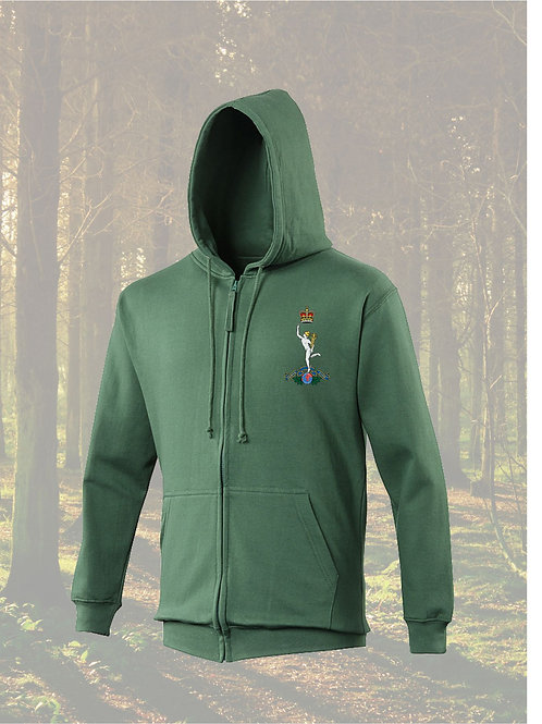 Zipped Hoodies Royal Corps of Signals JH050
