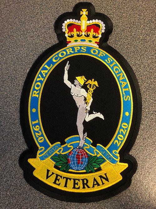 Small Royal Signals patch (Veteran)