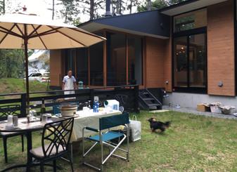 「鳴沢の家」訪問
