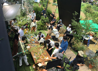 「深谷の家」がCM撮影に使われました。