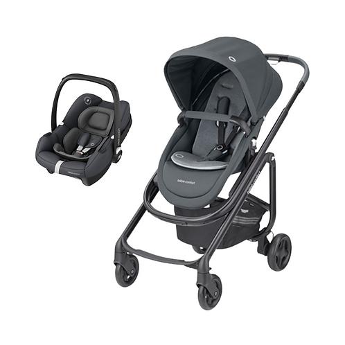 Bebé Confort Duo Lila SP + Tinca Essentail Graphite
