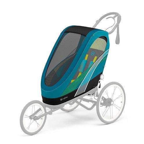 Cybex Chassi Zeno Preto Com Detalhe Preto + Seat Pack